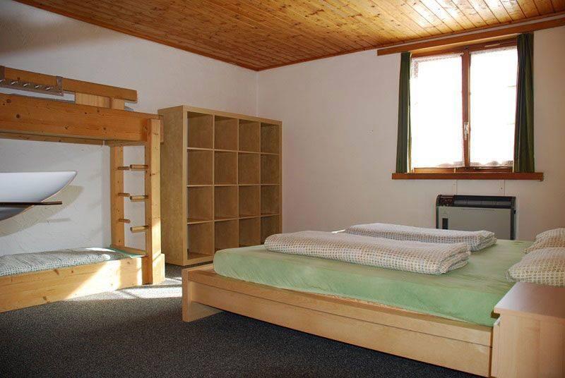 Gruppenhaus Hotel Rheinquelle Sedrun Tschamut Schweiz