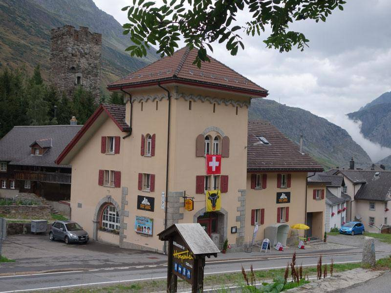 Hostel Sust Lodge Am Gotthard Hospental Schweiz